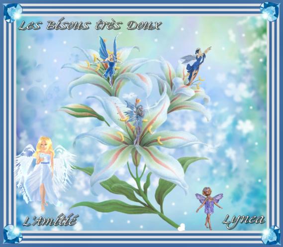 Bisous très doux-Amitié et Bisous de Lynea