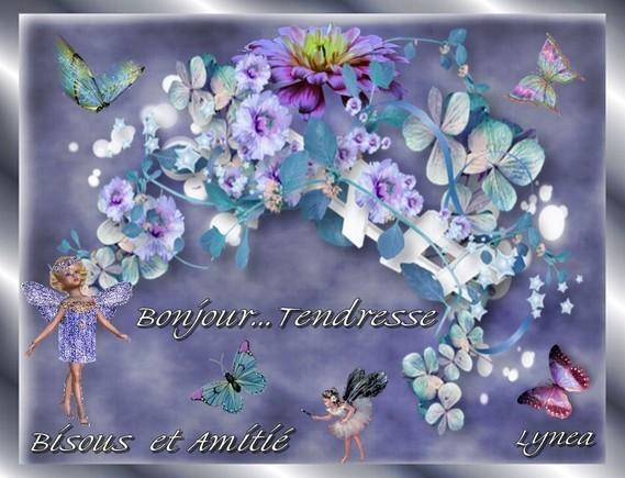 Bonjour---Tendresse---Bisous et aminité de Lynea