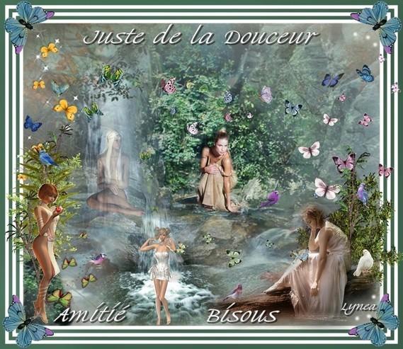 Juste de la Douceur--Amitié--Bisous--Lynea