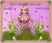 Belle journée Douceur-Joie et Bonheur-Bisous de Lynea