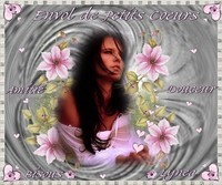 Envol de petits coeurs--amitié-douceur-bisous de Lynea