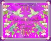 De douces Ondes pour vous mes amies- Soutien moral-réconfort-Bisous de Lynea