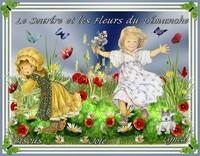 le sourire et les fleurs du dimanche-Bisous et Joie de Lynea