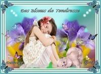 Bisous de Tendresse-fillette et chaton-Douceur de Lynea