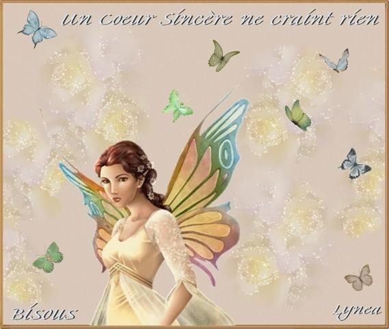 Un Coeur Sincère ne crain rien-Bisous de Lynea