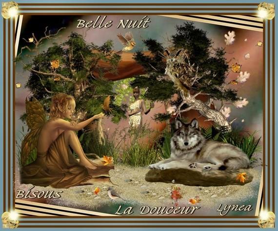 Belle nuit-Bisous de Lynea