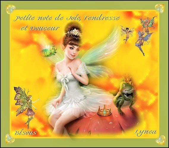 Petite Note de Joie, Tendresse et douceur-Bisous de Lynea