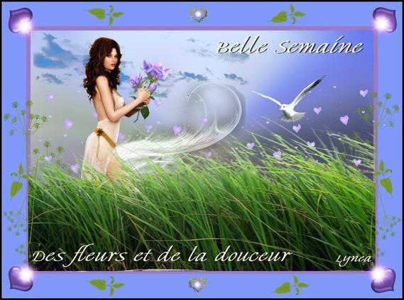 Belle Semaine- Des fleurs et de la douceur--Lynea