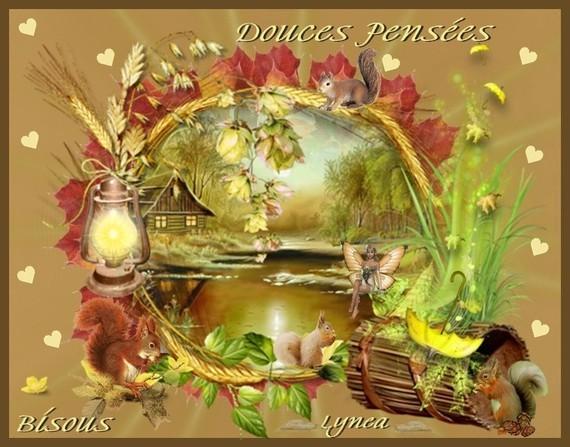 DOUCES PENSEES--BISOUS DE LYNEA