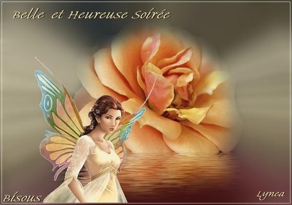 Belle et Heureuse Soirée la Rose-Bisous de Lynea