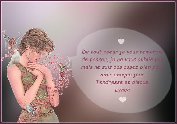 mot pour mes amies-Lynea