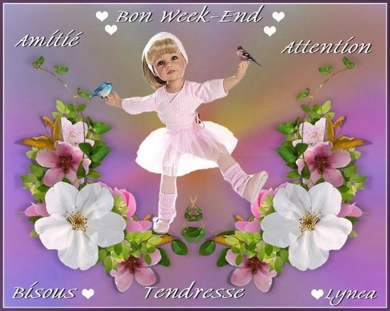 Bon Week End Amitié Attention Tendresse Bisous De Lynea Bon Week
