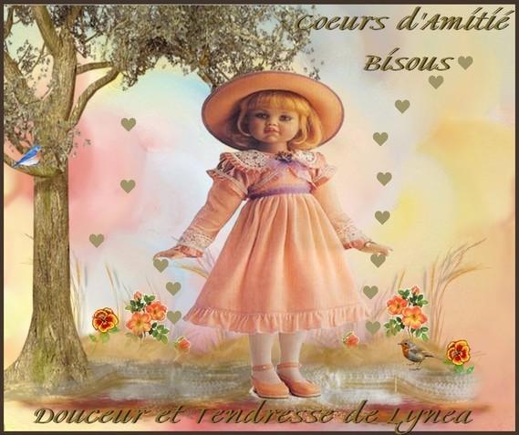 Bisous-Coeurs d'Amitié-Douceur et Tendresse de Lynea
