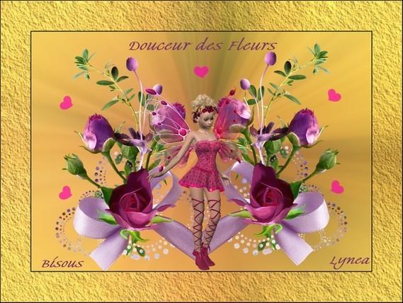 Douceur des fleurs-Bisous de Lynea