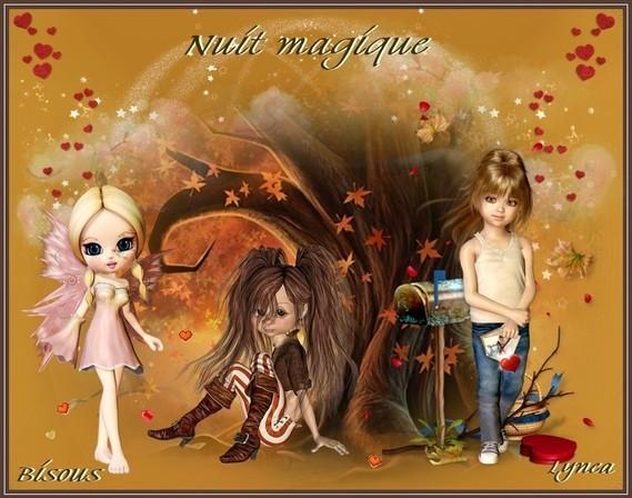 Nuit magique-bisous de Lynea