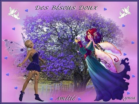 bisous doux de Lynea-