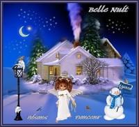 Belle Nuit-Bisous-Douceur de Lynea