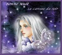 Bonne nuit-La caresse du soir-Bisous de Lynea