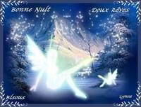 Bonne nuit-doux rêves-bisous de Lynea
