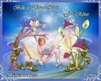 Belle et douce nuit-Jolis rêves-Bisous tendresse de Lynea