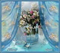 Bonjour fleuri- Bisous de Lynea