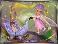 Douce nuit, jolis rêves-doux bisous de Lynea