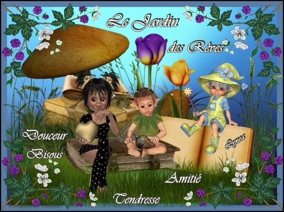 Le Jardin des Rêves-Bisous de Lynea