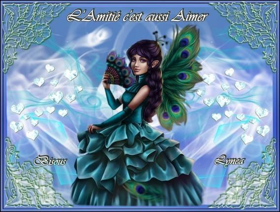L'Amitié c'est aussi Aimer-Bisous de Lynea