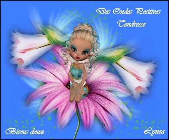 Ondes Positives-Tendresse-Bisous deoux de Lynea