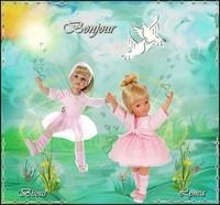 Bonjour-rose-Bisous de Lynea