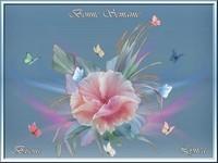 Bonne semaine-fleur-Bisous de Lynea