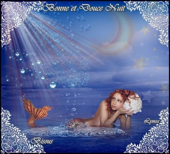 Bonne et douce nuit-bisous de Lynea