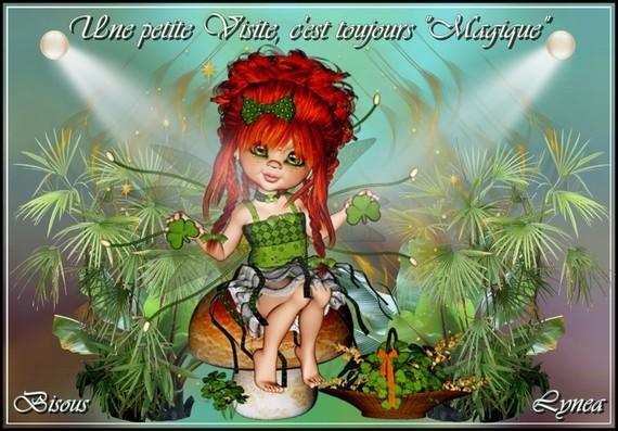 Une petite visite c'est Magique-Bisous de Lynea