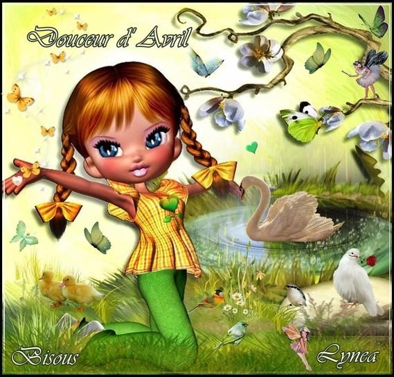 Douceur d'Avril-Bisous de Lynea