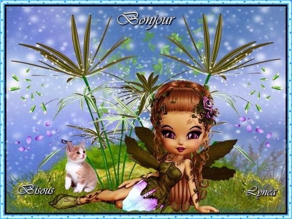 Bonjour bisous Lynea
