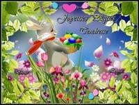 Joyeuses Paques tendresse bisous de Lynea