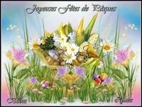 Joyeuses Fetes de Paques bisous de Lynea