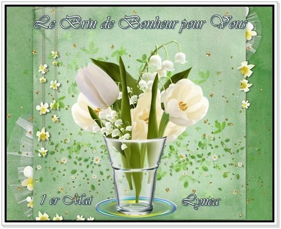 Le brin de Bonheur pour Vous 1er mai Lynea