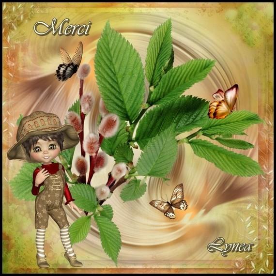 Merci fleur de Lynea
