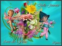 Belle journée avec des fleurs Lynea