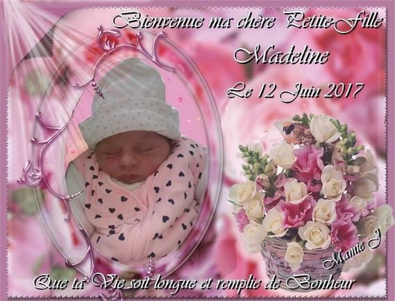 Bienvenue Madeline