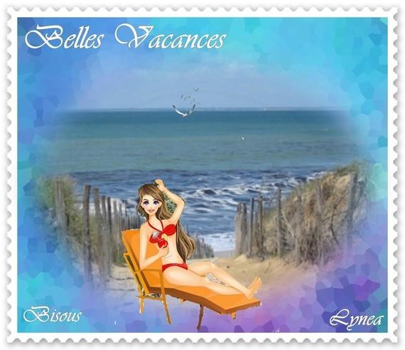 Belles vacances bisous de Lynea