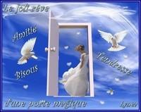 Le joli rêve d'une porte magique bisous de Lynea