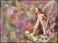 Belle nuit douceur jolis rêves bisous de Lynea