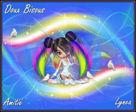 Bisous doux amitié Lynea