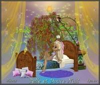 Belle et douce nuit bisous de Lynea