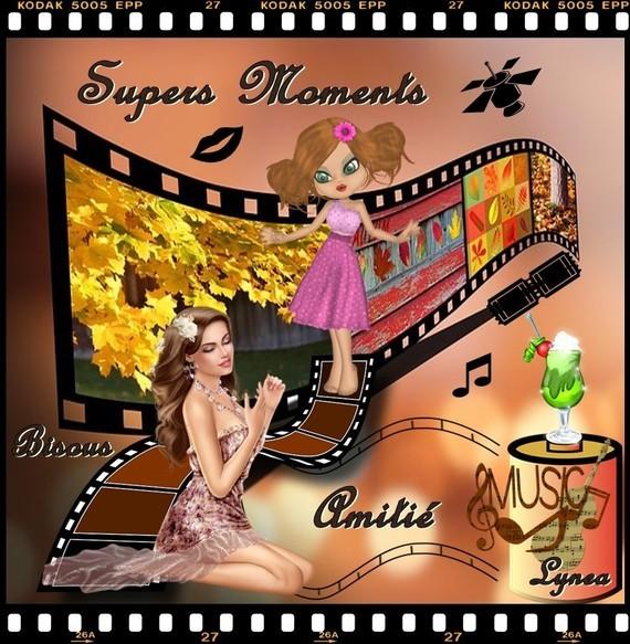 Supers moments amitié bisous de Lynea