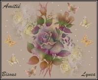 Amitié bisous de Lynea
