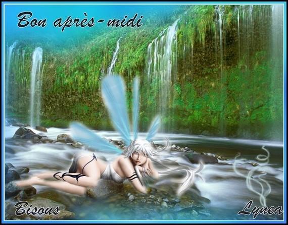 Bon après-midi bisous eau Lynea