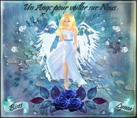 Un ange pour veiller sur nous bises de Lynea